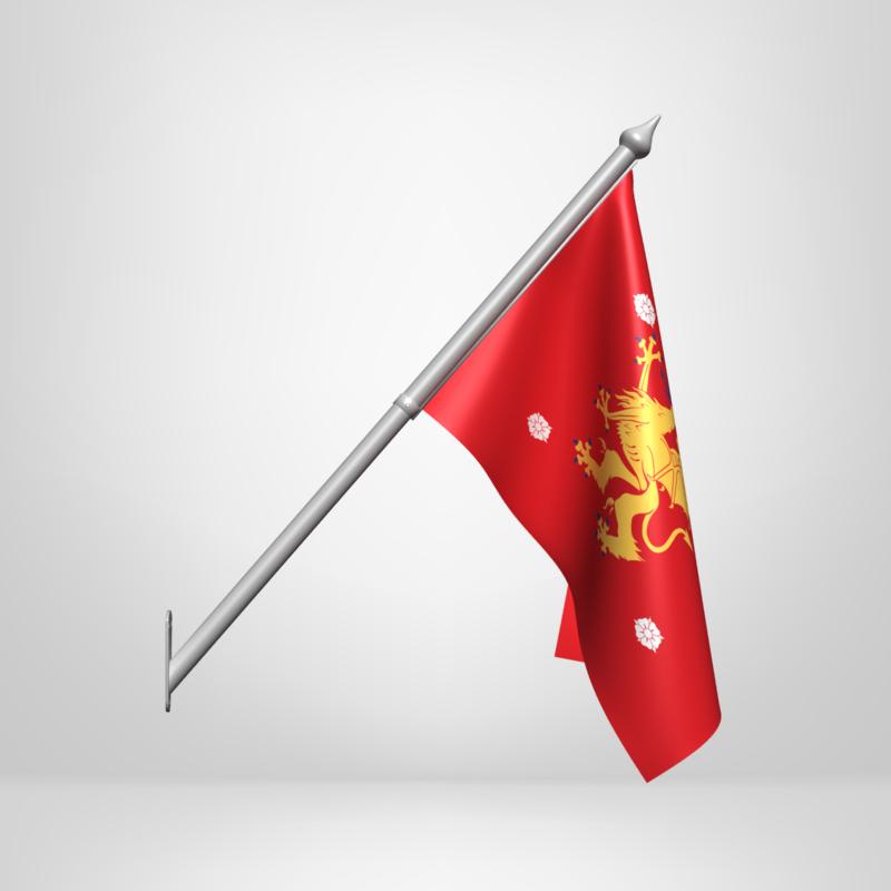 Fasadflagga Ostergotland Vapenflagga Bestall Landskapsflagga Landskap Shop